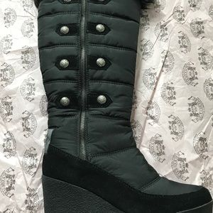 Juicy Couture black boots size 7.5